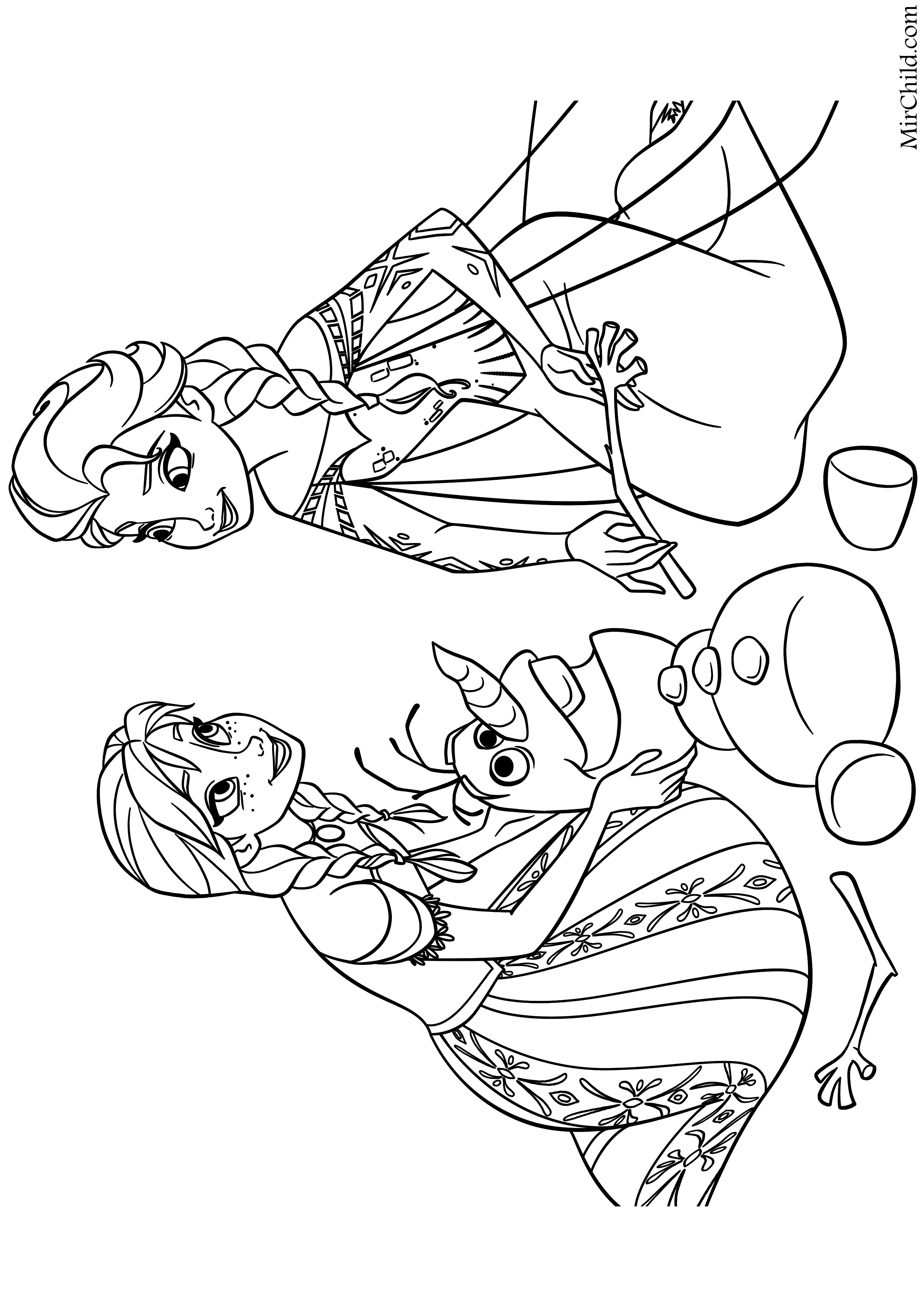 Роботы раскраска 4